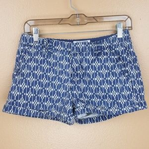 🌟 Blue & White Shorts by Old Navy Size 0